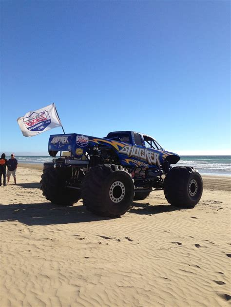 monster trucks videos 2013 monster truck on the beach oceano dunes huckfest 2013