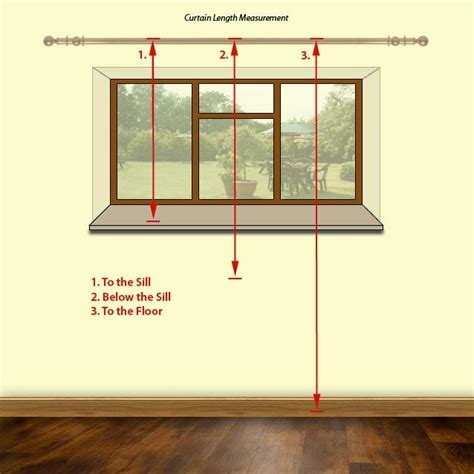 how to calculate curtain measurements measure for curtains length sewing and such pinterest