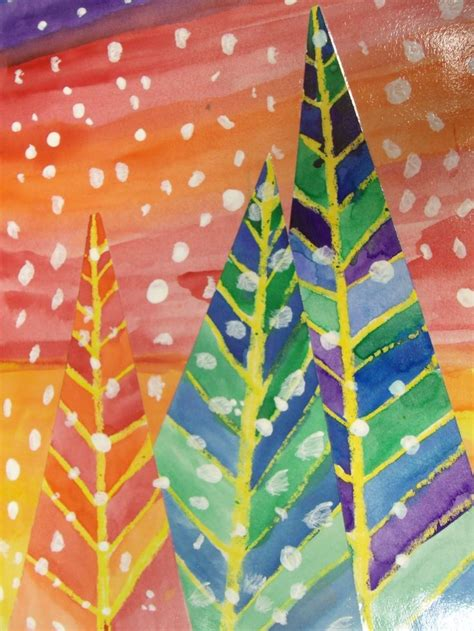 christmas craft art grade 3 2nd and 1st grade smarty arties taught by the groovy class winter