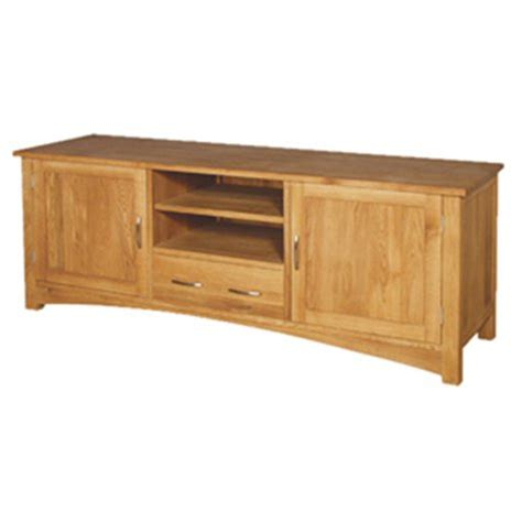 Contemporary Dining Room Furniture American Oak Low Sideboard Tv Cabinet The Porcupine Company