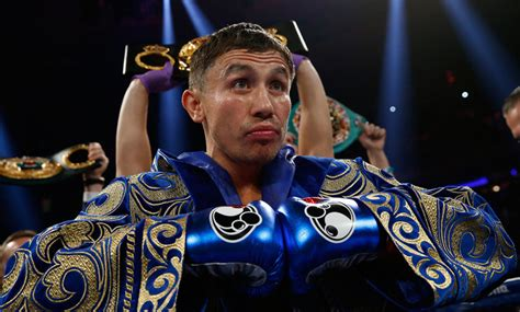 Ringside Seat?s 2015 Fighter of the Year: Gennady Golovkin