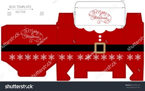 password pattern unik christmas gift box design die cut christmas vector