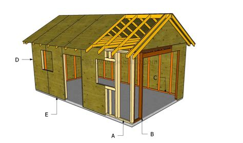 build a garage plans how to build a detached garage howtospecialist how to build step by step diy plans