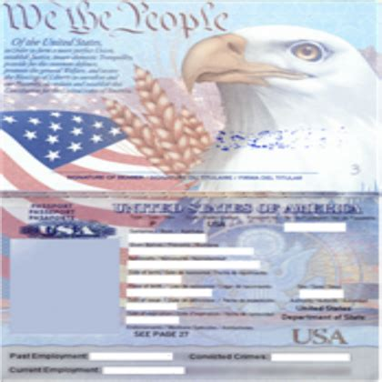 us passport template image collections templates design
