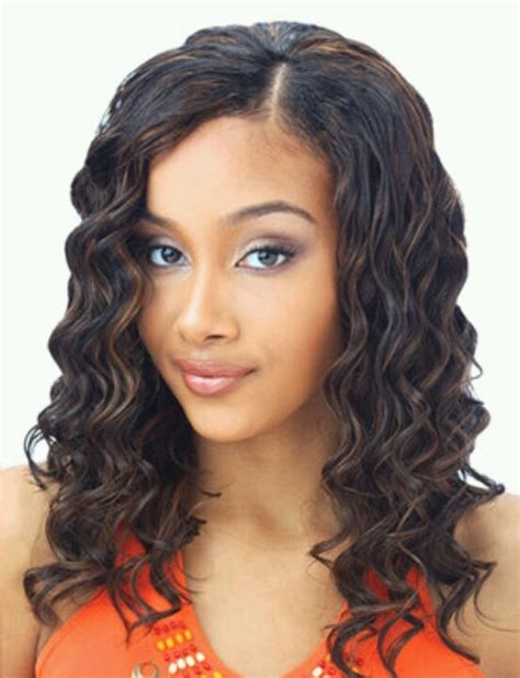 wet and wavy sew in hairstyles 17 best images about sew in weave on pinterest