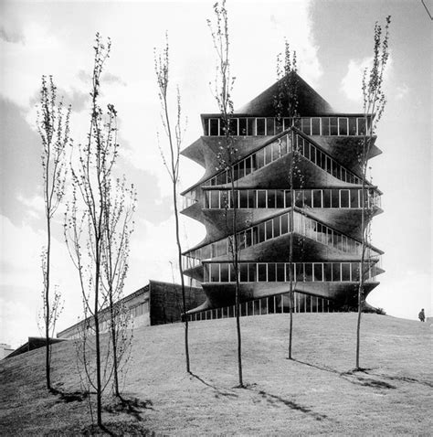 Interested In Architecture Ad Classics The Pagoda Miguel Fisac Archdaily