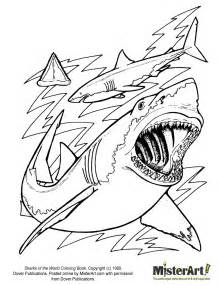 Shark Home Decor Free Coloring Page Sharks Of The World Coloring Book