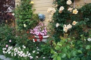 Flower Garden Decor Roses For Beautiful Outdoor Decor Charming Garden Designs And Backyard Ideas