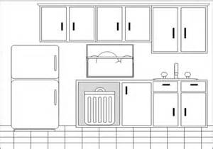 kitchen bw free images at clker vector clip