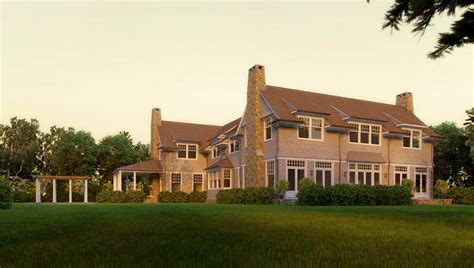 shingle style architects david neff architect moose pond shingle style home plans by david neff architect