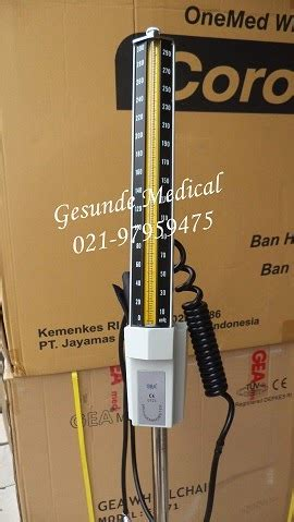 Tensimeter Air Raksa Berdiri alat tensi darah hg standing portable tensimeter berdiri pakai roda toko medis jual alat