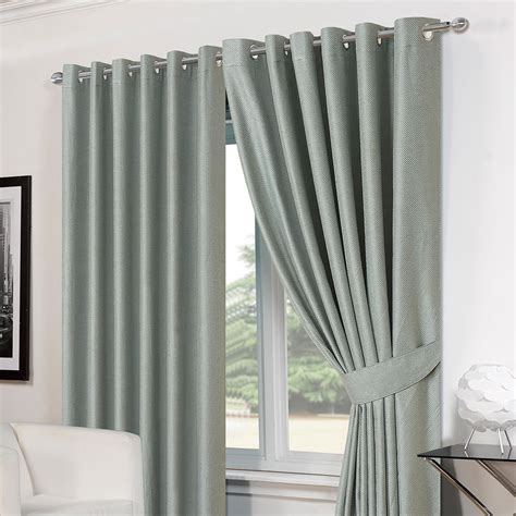 pencil pleat curtains ready made basket weave pair thermal curtains ready made eyelet
