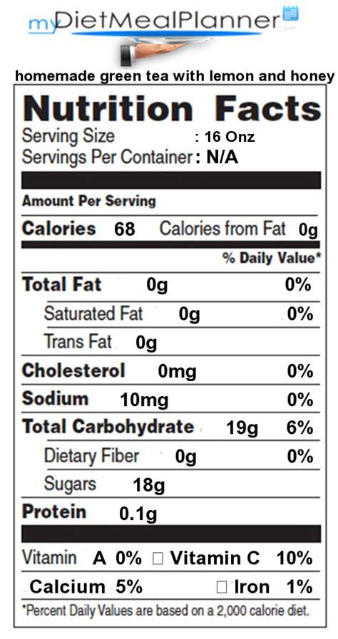 Nutrition facts Label   Beverages 14   mydietmealplanner.com