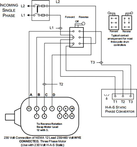 static phase converter wiring diagram 37 wiring diagram