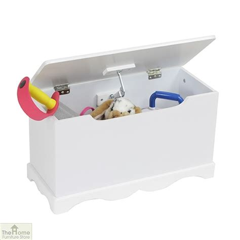 white wooden toy box  home furniture store hfs