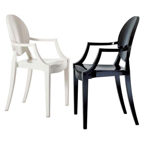 kartell sedia ghost sillas de pl 195 161 stico para amoblar tu casa decoradoras