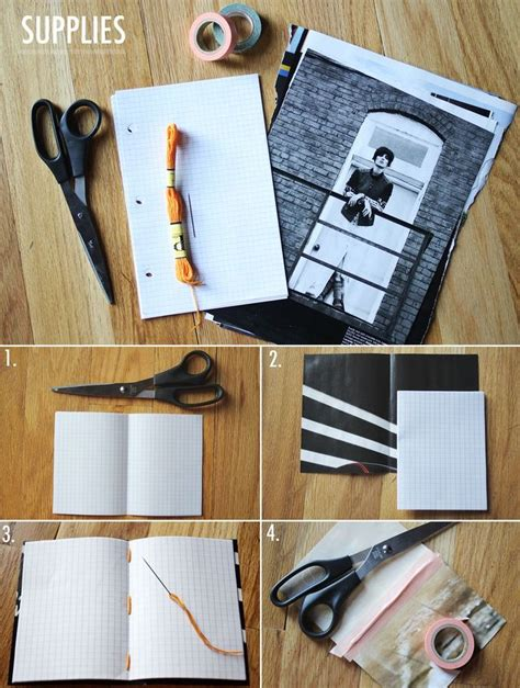 diy magazine crafts best 25 diy decorate notebook ideas on diy