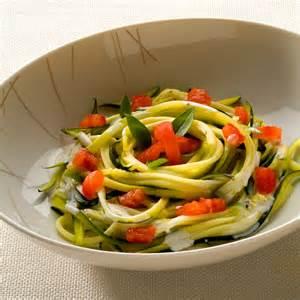 salade de courgettes spaghettis facile et pas cher