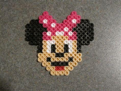 perler bead minnie mouse by supermrholmes on deviantart