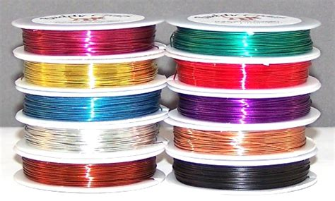 28 colored wire
