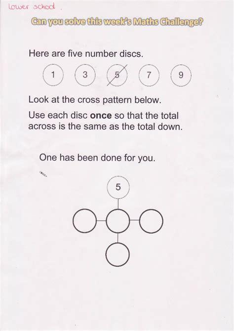 maths challenge 6 answers maths parklands junior school