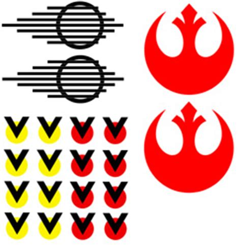 Sticker Helm Gm by Star Wars Rebel Pilot Decal Pictures To Pin On Pinterest