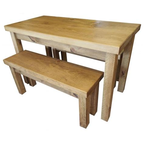 wooden bench set finewood studios furniture ltd rough sawn table and