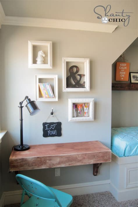 diy com bedrooms diy frame shelves shanty 2 chic