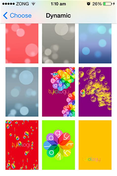 wdynamic adds  customizable dynamic wallpapers  ios