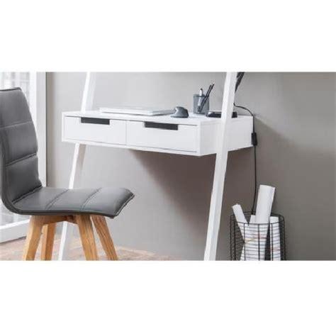 kristina retro ladder style computer desk  white