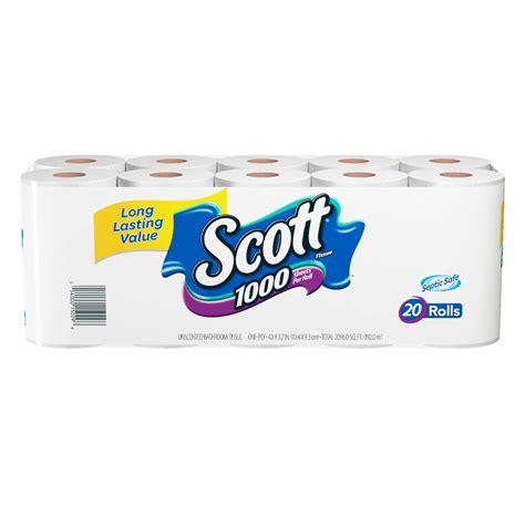 scott bathroom tissue scott 174 1000 bath tissue shop your way online shopping
