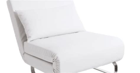 Chair That Unfolds Into A Bed by Soft Faux Leather Chair Converts Into A Single Guest Bed