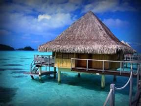 south pacific overwater bungalows tahiti bora bora island pearl of the pacific free
