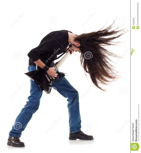 ai rocker with hair on his head headbanging rocker royalty free stock images image 16586799