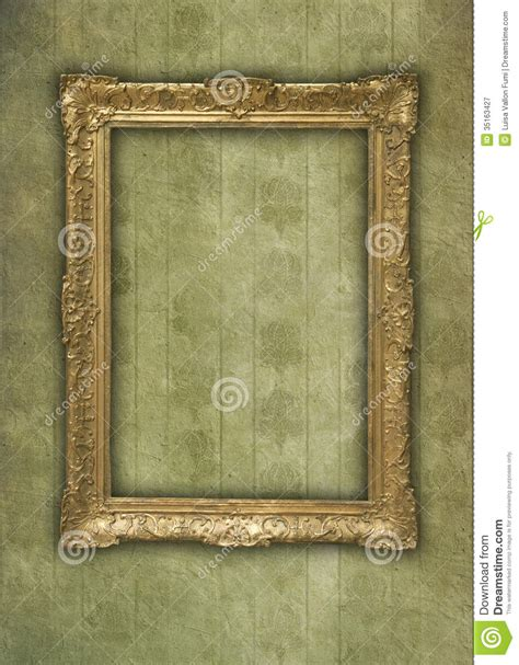 grunge background with st frame royalty free stock photos image 25075598 vintage golden frame in faded grunge wallpaper stock image image 35163427