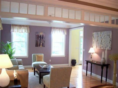 Sofa Sudut Ungu 12 desain segar ruang tamu minimalis nuansa ungu