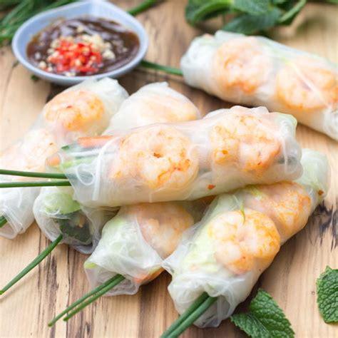 Rice Paper Rolls In Advance - prawn rice paper rolls recipelion