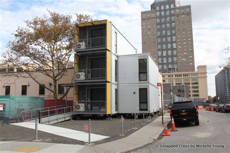 Temporary Housing by Inside Nyc S Temporary Disaster Housing Unit Prototype At
