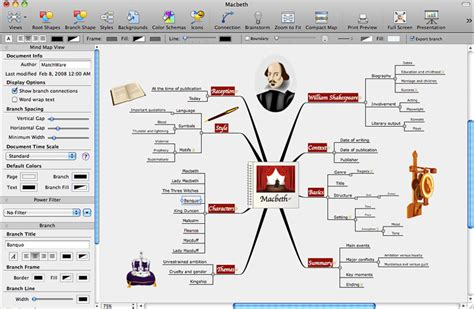 mac mind mapping software matchware mindview