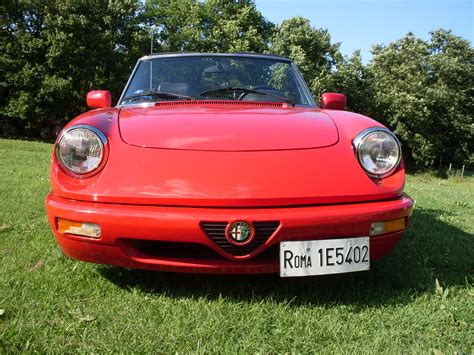 alfa romeo spider car italy motorcycle rental scooters