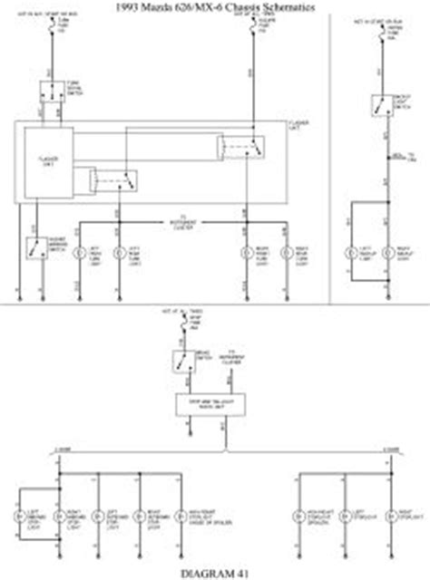 96 mazda b2300 fuse box diagram 96 get free image about