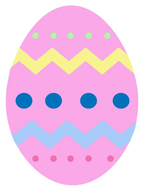 easter egg free illustration easter egg pink chevron free image