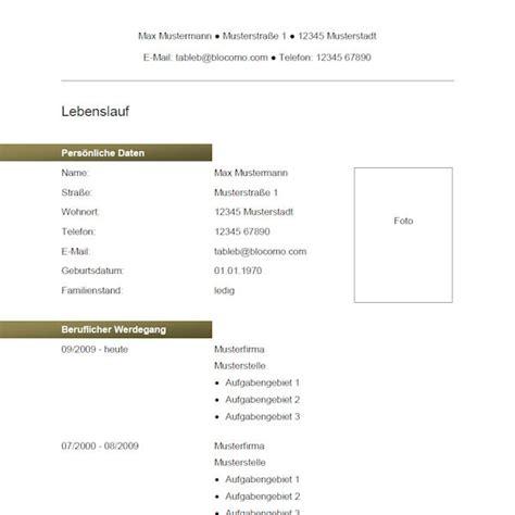 Lebenslauf Muster Kostenlos Pdf Vorlage 55 Tabellarischer Lebenslauf