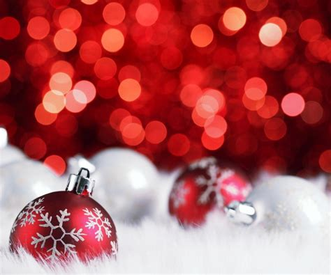 themes for christmas ball red christmas balls wallpaper for android android live