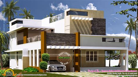 exterior modern house design december 2014 kerala home design and floor plans