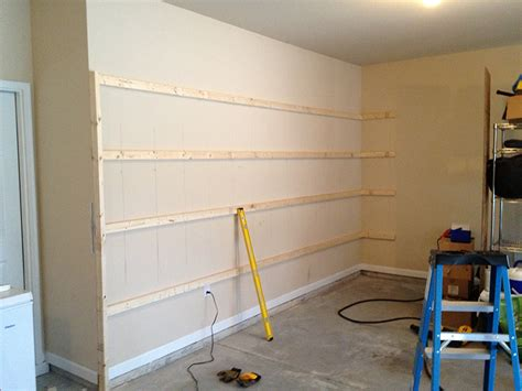 diy garage shelves diy garage shelving ideas