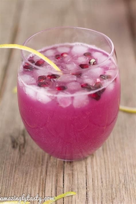 Detox Drinks You Can Make At Home by Lemon Pomegranate Healthy Detox Drinks