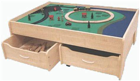 Play Table With Drawers by Play Tables