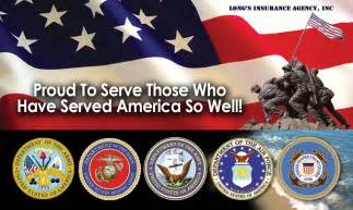 Happy Veteran?s Day   Long's Insurance Agency