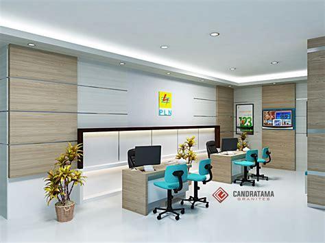 desain meja customer service bank interior kantor kediri interior bank kediri jasa interior